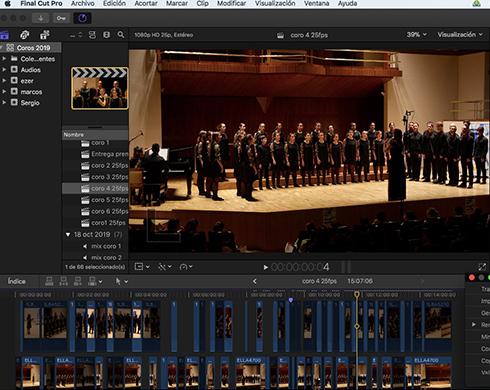 grabación eventos con streaming en directo
