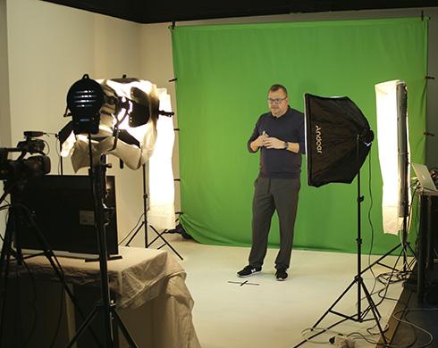 grabación de video presentación de productos para Makito