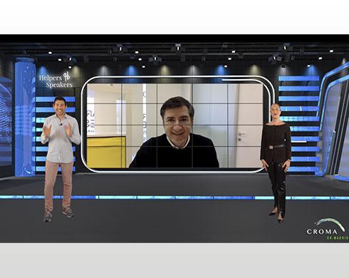 emisión streaming con helpers speakers y Quico Taronjí